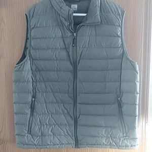 Army Green Insulated Vest Large
